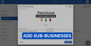 Painting contractor sub-businesses